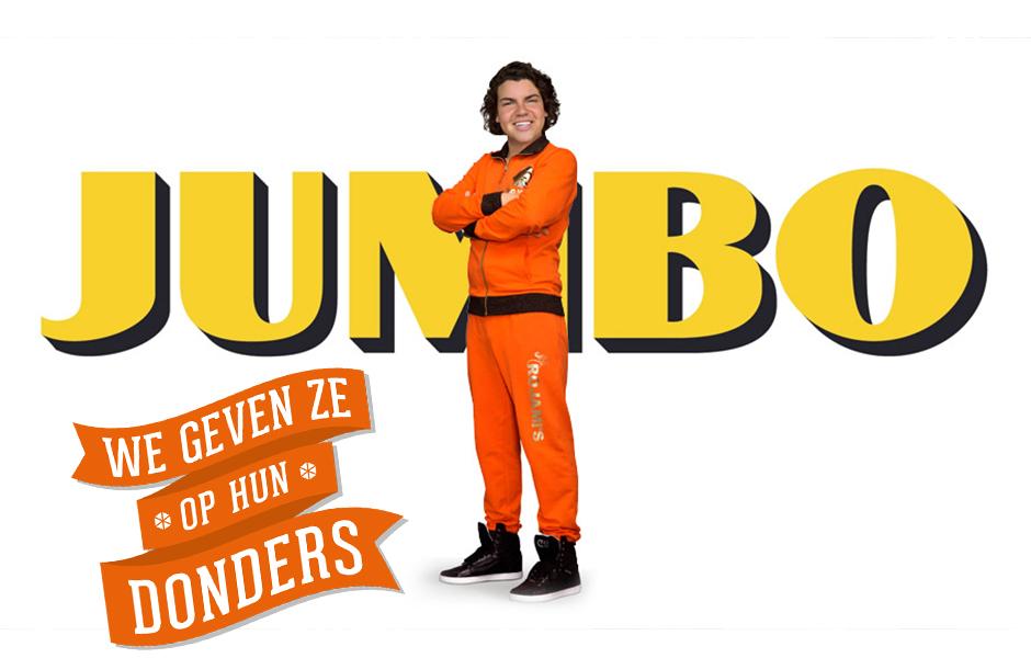 Jumbo Roy Donders reclame