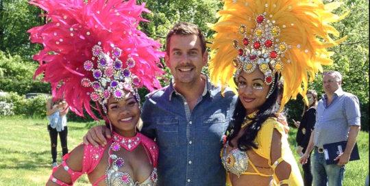 RTL GrillMasters-Samba danseressen