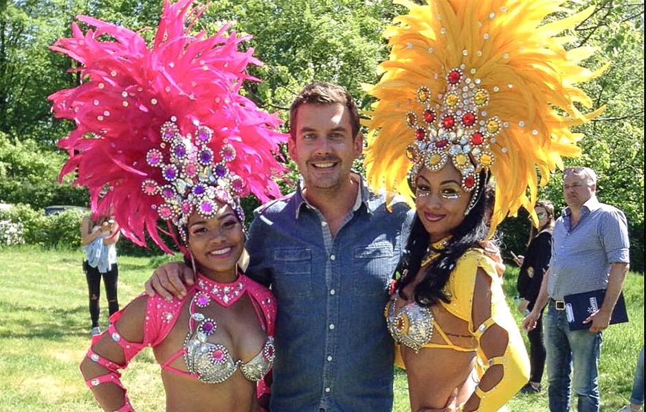 RTL GrillMasters samba danseressen