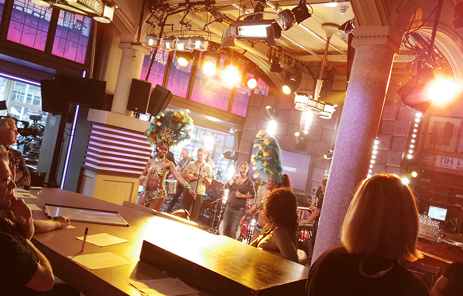 RTL Late Night samba danseressen