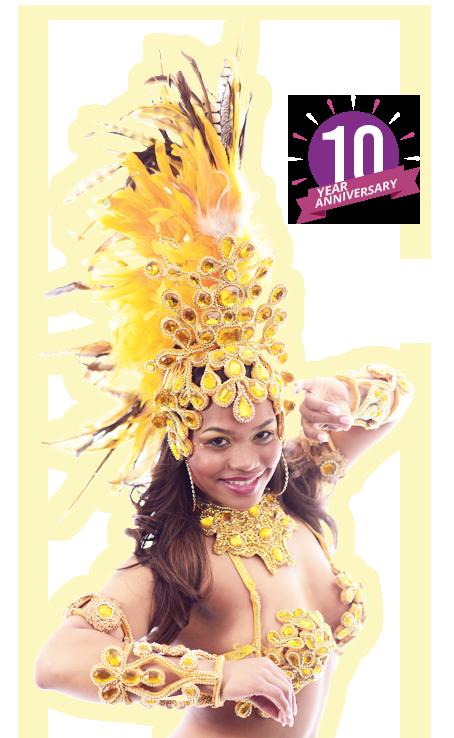 Braziliaanse samba danseressen huren