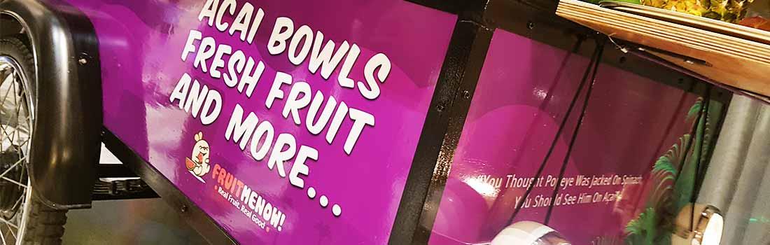 Acai bowls, vers fruit en smoothies op uw evenement
