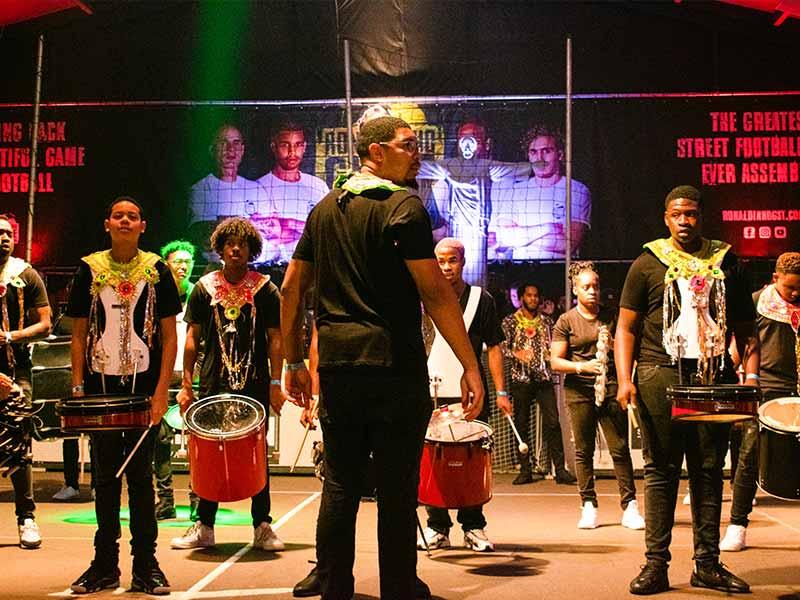 Caribische Brassband voor-evenementen