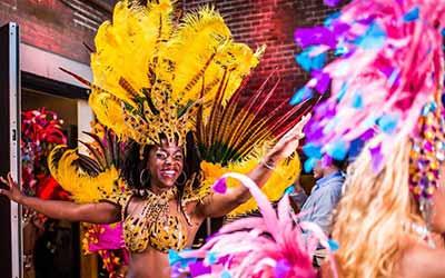 Fidelinas Braziliaanse Samba Show