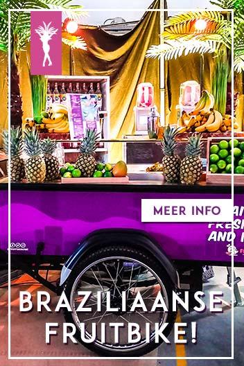 Braziliaanse fruitbike huren op evenementen
