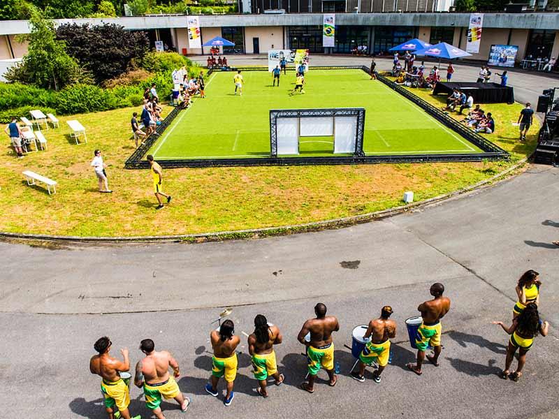 Capoeira show op evenement