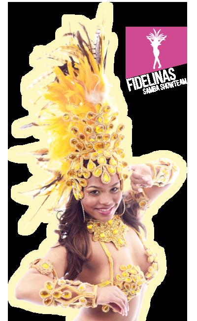 Fidelinas Samba Show Team danseres