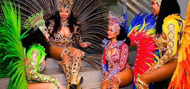 Samba danseressen van Fidelinas