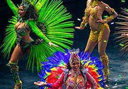 Bekijk onze Braziliaanse samba show