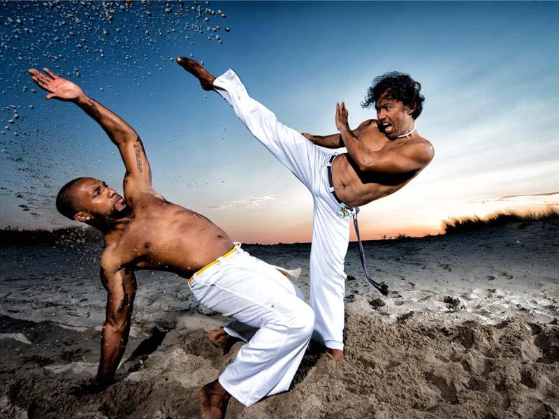 Capoeira show voor evenement